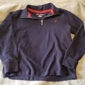 NWOT 1/2 zip boys size 10/12 pullover